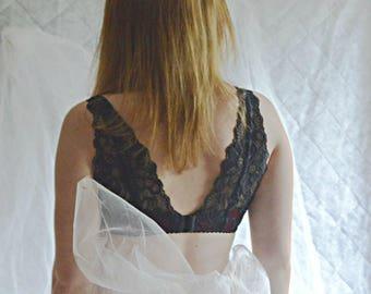 Lace balcony bra, black lace bra , plus size bra, Wine red bra, Red lingerie , Red bra , Black bra, 32DDD, 34DDD, 36Ddd, 38Ddd, 40Ddd