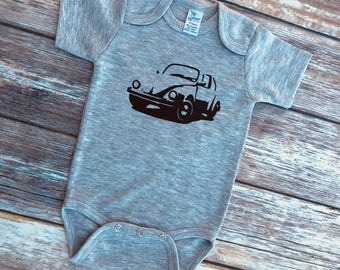 VW Bug baby bodysuit/ one piece