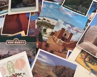New Mexico Postcards/Ephemera