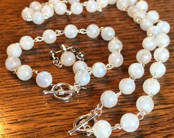Moonstone Jewelry Set