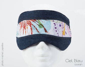mask, night, sleep well soft chic designer blackout