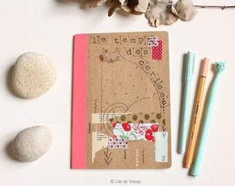 Notebook, size : A6, 10.4x15cm