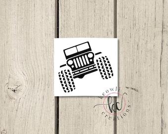 Jeep Vinyl Decal-Style 01