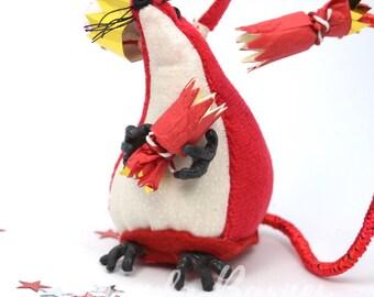 Red Velvet Christmas Mouse
