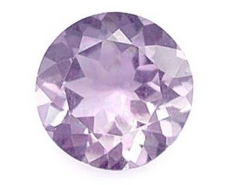 Genuine Amethyst 9mm Round Shape