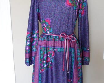 40% OFF Vintage 1960's Kay Windsor Dress / Size 12 / Made in the USA / Excellent Vintage Condition