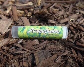 Peppermint Lip Balm, Organic Coconut Oil, Cocoa Butter