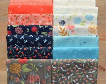 Creekside - Fat Quarter Bundle - Sherri and Chelsi - Moda Fabrics - 16 Fat Quarters - 100% Cotton
