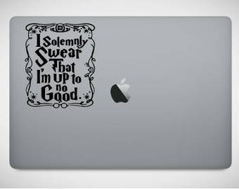 Harry Potter Solemnly Swear Macbook Ipad Decal SVG DXF STUDIO3