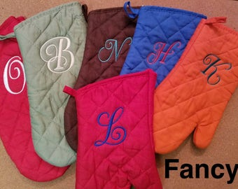 Personalized Oven Mitt