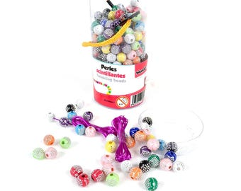 Sparkly beads - 6 years old