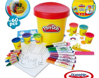 Maxi pot creative Play-Doh: 60 pieces