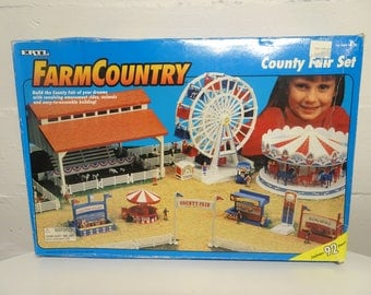 Vintage ERTL Farm Country County Fair Set #4443 New In Box - Free Shipping