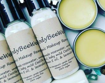 Organic Makeup Remover, Sensitive Eyes Makeup Remover, Waterproof Makeup Remover, Eye Makeup Remover, Vegan, Cosmetics, Cruelty-Free Beauty!