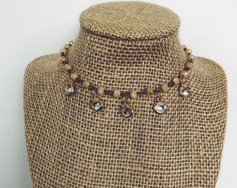 Vintage Dangle Choker