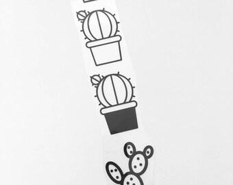 Set of 4 cactus applique / fusing to customize your textiles