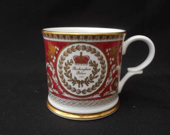 The Royal Collection Buckingham Palace Mug. 1995