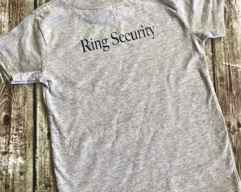 Ring bearers t-shirts, Ring Security