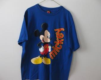 Vintage Mickey Mouse Disney t-shirt shirt Adult XL