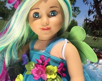 "WEEKEND SALE! Custom American Girl Doll ""Petunia"" Flower Fairy *Free U.S. Shipping*"