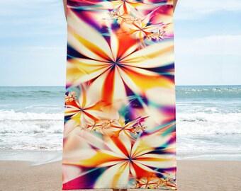 Fractal Flowers - Towel