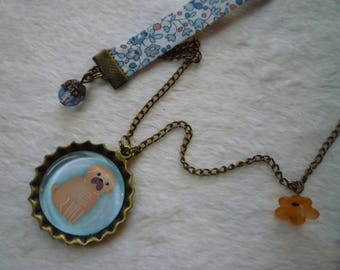 Liberty small dog necklace