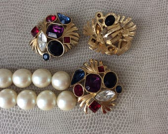 Vintage Givenchy jewelry set