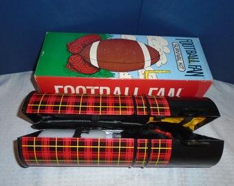 Vintage Football fan survival kit. Football fan. Football game.