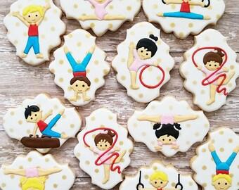 Gymnastics Cookies (Dozen)