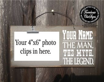 The man the myth etsy the man the myth the legend custom man myth legend sign the man the sciox Gallery