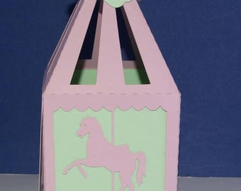 Box dragees capitals carousel