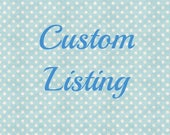Custom listing for Andy Gilliland