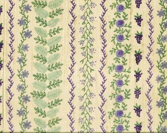 Beau tissu Patchwork Imprimé de points de broderie Vintage