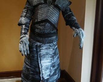 Night King Costume, Game of Thrones. All made in 100% Leather