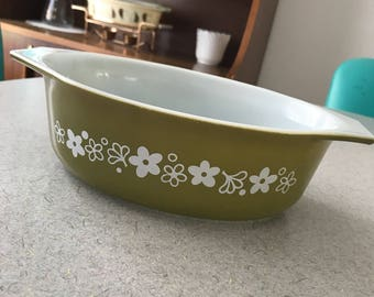 Pyrex Casseole Dish 043 Spring Blossom