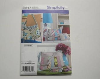 Simplicity Pattern #2617-3 bags