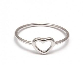 """Heart"" ring"