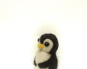 Penguin,  Needle Felted Gift