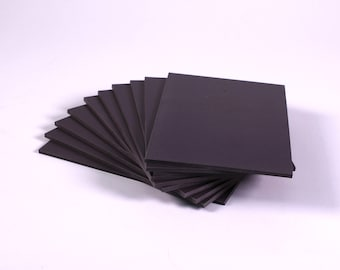 Super Soft Lino Blocks 150mm x 100mm Double Sided Grey Thick Printing Lino Blocks Choose Quantity