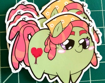 Pony Chubs! Treehugger Sticker
