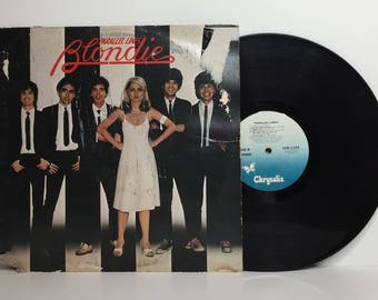"Blondie-Parallel Lines 12"" vinyl record album LP"