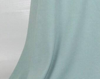 Slate - C-Pauli Solid - Organic Cotton Double knit UK Seller