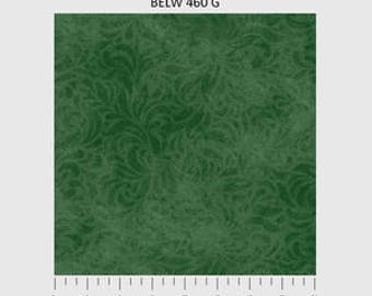 Bella Suede Fabric in Dark Green by P & B Textiles