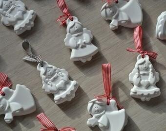 Christmas decoration-Angels in ceramic powder