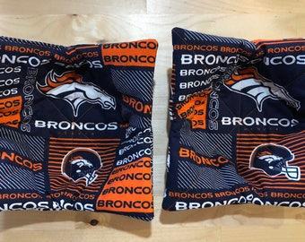 Microwave Bowl Holder Pair - Denver Broncos