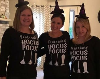 Womens Shirt. womens t-shirt. halloween shirt. hocus pocus shirt. womens halloween shirts. Halloween t-shirt. Sanderson Sisters.