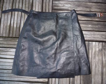 mini leather skirts