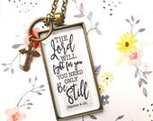 PREORDER Exodus 4:14 Adoption fundraiser necklace