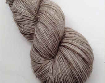 Maple & Brown Sugar - Hand Dyed Fingering Weight BFL Yarn - Boondock (463 yards)