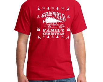 Griswold Family Christmas (Red or Green) T-Shirt
